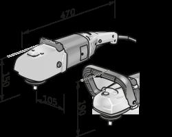 Полировальная машина L 602 VR - Flex. Бесплатная доставка! Акции!