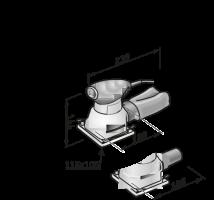 Виброшлифовальная машина MS 713 - Flex, Флекс. Бесплатная доставка!