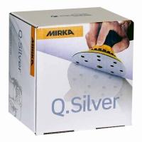 Шлифкруги Q.Silver Ø 125 мм 8 отверстий P600 MIRKA, МИРКА 24tool.ru