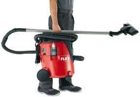 Безопасный пылесос Flex с ручной системой очистки фильтра 20 л, класс L  Флекс - 24tool.ru