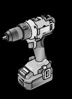 Двухскоростная аккумуляторная ударная дрель-шуруповерт 18,0 В PD 2G 18.0/2.5 Set - Flex, Флекс – 24tool.ru