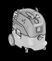 Безопасный пылесос VCE 33 L MC ФЛЕКС с ручной очисткой фильтра, 30 л, класс L – FLEX - 24tool.ru