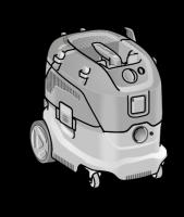 Безопасный пылесос VCE 33 L AC ФЛЕКС с ручной очисткой фильтра, 30 л, класс L – FLEX - 24tool.ru