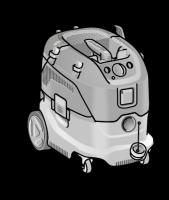 Безопасный пылесос VCE 33 M AC ФЛЕКС с ручной очисткой фильтра, 30 л, класс M– FLEX  - 24tool.ru