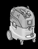Безопасный пылесос VCE 44 M AC ФЛЕКС с ручной очисткой фильтра, 42 л, класс M– FLEX - 24tool.ru
