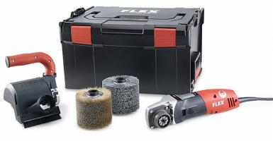Щеточная машина TRINOXFLEX BBE 14-3 110 Set Flex. Бесплатная доставка!