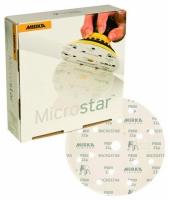 Microstar Ø 150 ММ 15 отверстий P 1500 MIRKA, МИРКА 24tool.ru