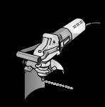 Флекс Машина для сверления глухих отверстий с подачей воды и выключателем PRCD Flex - 24tool.ru