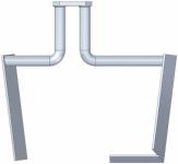 Айбеншток Весло для перемешивания для TwinMix 1800 (T)  Eibenstock