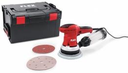 Мощная эксцентриковая шлифовальная машина с регулировкой частоты вращения в комплекте, 150 мм ORE 150-5 Set - Flex, Флекс