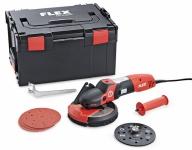 SUPRAFLEX, специализированный шлифовальный инструмент для обработки металла, камня, лакокрасочных покрытий, дерева SE 14-2 125 Set - Flex, Флекс