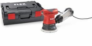 Эксцентриковая шлифовальная машина с регулировкой частоты вращения в комплекте ORE 125-2 Set - Flex, Флекс