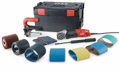 Сатинировальная машина TRINOXFLEX, комплект BSE 14-3 100 Set - Flex, Флекс Вес - 2,1 кг