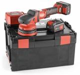 Аккумуляторная эксцентриковая полировальная машина с приводом принудительного действия 18,0 В XCE 8 125 18.0-EC/5.0 Set - Flex, Флекс