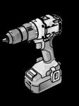 Двухскоростной аккумуляторный шуруповерт 18,0 В DD 2G 18.0-EC/2.5 Set - Flex, Флекс – 24tool.ru