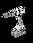 Двухскоростная аккумуляторная ударная дрель-шуруповерт Set - Flex