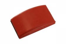 Ручной резиновый шлифовальный блок 70x125мм Мирка
