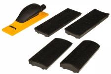 Комплект ручного шлифовального блока MIRKA Premium 70x198мм 40 отв. Мирка